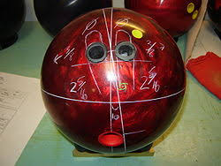 Bowling Ball Finger Pitch Chart Bowlingchat Wiki Simplified Fan Chart Instructions