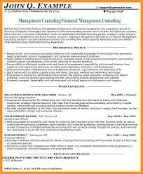 8 9 Sample Management Consulting Resume Wear2014 Com