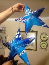 Bud Light Party Dallas These Are Stars Made From Bud Light Cartons Beer Birthday