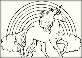 Small Picture Download Unicorn coloring Sheet to Print Color Zini
