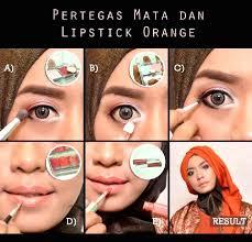 natural lipstick wardah tutorial make up