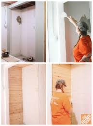 how to build a closet framing the closet