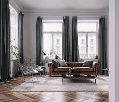 Vintage Furniture In Modern Living Room