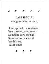 preschool song i am special preschool songs songs and school preschool song i am special
