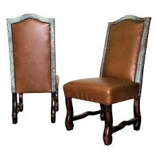 rustic leather dining chairs. Western Style Dining Chairs, Rustic Furniture Store, Store Leather Chairs 1
