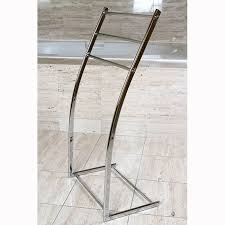 standing towel rack. Floor Stand Steel Towel Rack Intended For Standing Decor 15 O