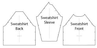 Sweatshirt Pattern Awesome Jersey Sweatshirt PDF Sewing Pattern By Angela Kane