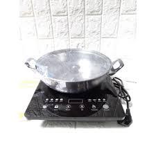 LN123] Bếp điện từ đơn cảm ứng Goldsun BA2102GT tặng kèm nồi lẩu