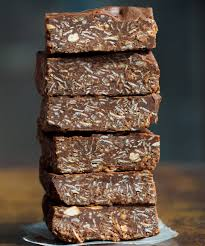 chocolate oatmeal no bake bars