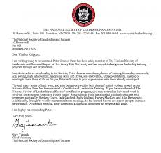 How Do You Write A Letter Of Recommendation For National Honor