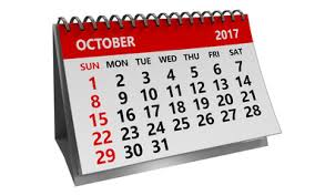 3d October 2017 Calendar Buy This Stock Illustration And Explore