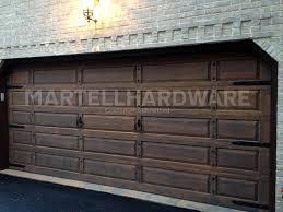 rustic garage doorsDoor Clavos  Dark Bronze Finish  Agave Ironworks Mexican