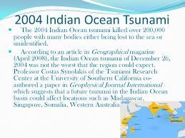 tsunami 2004 n ocean tsunami