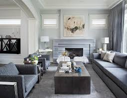 contemporary gray living room furniture. Unique Gray Gray Living Room With Striped Marble Fireplace To Contemporary Furniture U