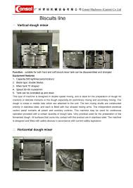 Tunnel Oven Design Consol Biscuits Line Bakery Oven Tunnel Oven Cookie