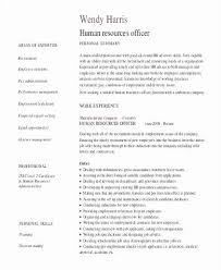 Human Resources Resume Sample Amazing Hr Manager Resume Sample New 48 Luxury Image Human Resources Resume