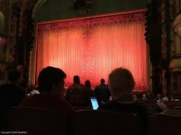 New Amsterdam Theatre Seating Chart View From Seat New