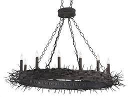 amazing round black chandelier black chandelier