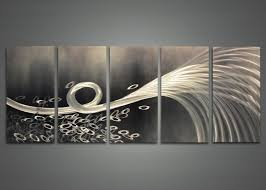 wall art ideas design grey wallpaper metal wall art abstract contemporary design steel stained varnished hand painted professional metal wall art abstract