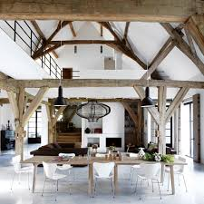 country modern furniture. Quotthe Rustic Furniture Brings Country. High Beams And White Walls Country Modern O