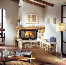 2 sided corner gas fireplaces | Two-Sided Corner Fireplace