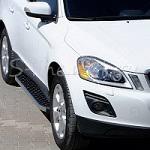 <b>Пороги</b> подножки ступени <b>боковые на</b> Volvo (Вольво) XC60 ...