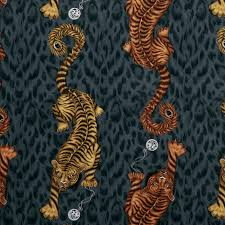 Tigris Ew0105 01 Behang Met Jungle Patroon Effabricsnl