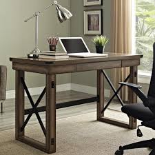 Living Room Computer Desk Furniture Marvelous Rustic Desk With Rustic Contemporary