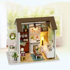 aliexpresscom buy 112 diy miniature doll house. Tow Styles Assemble DIY Doll House Toy Wooden Miniatura Houses  Miniature Dollhouse Toys Birthday Gift Aliexpresscom Buy 112 Diy Miniature Doll House L