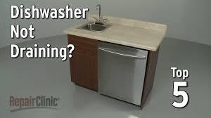 See Through Dishwasher Dishwasher Not Draining Dishwasher Troubleshooting Youtube