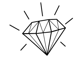 Small Picture Free Diamond Coloring Pages Bebo Pandco
