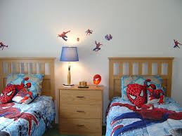 contemporary kids bedroom furniture. Space-saving Twin Size Bedroom Furniture Sets Maximizing The Uncluttered Room : Appealing Spiderman Wall Contemporary Kids