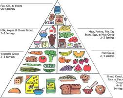 Food Group Pyramid Chart Health Tips The Food Pyramid Chart