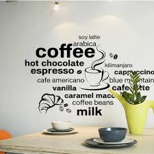 Small Picture Flavored Coffee Theme Wall Sticker Online Shopping Pakistan