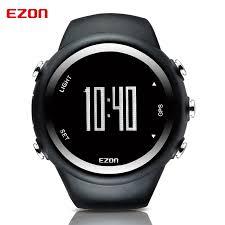 online get cheap gps running watch aliexpress com alibaba group ezon t031 gps running sport watch distance speed calories monitor gps timing men sports watch 50m