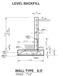 retaining wall design foundation