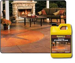 Quikrete Concrete Stain Colors Chart Concrete Etching Stains Quikrete Cement And Concrete Products