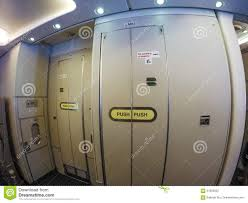 Aircraft lavatory stock photo. Image of cabinet, locked - 57093922