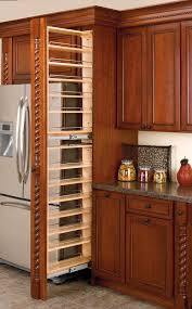 rev a shelf filler pullout organizer with wood adjule shelves tall pantry accessories