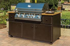 gensun 67 gas grill island with lion 40 grill 90gf0067 natural or propane