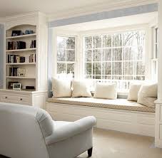42 Amazing And Comfy Built-In Window Seats. | Window, Front windows and  Living rooms