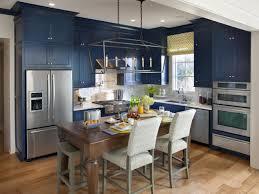 Navy Blue. HGTV Smart Home 2014 Kitchen