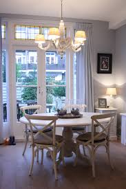 french country style dining room baroque style chandelier white round top dining table french style dining