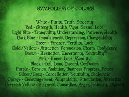 Astral Candle Color Charts I Heart The Goddess September 2011