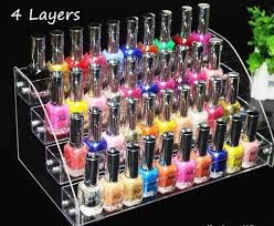 Mac Lipstick Display Stand Fascinating 32 32 Tiers Multifunction Makeup Cosmetic Display Stand Clear