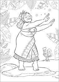 Moana Vaiana Kleurplaat Woyaoluinfo