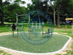 sydney outdoor exercise park centennial park