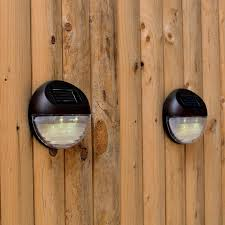 superb exterior house lights 4. Set Of 4 Super Bright Round Brown Solar Fence Lights Great. Exterior Window Designs. Superb House