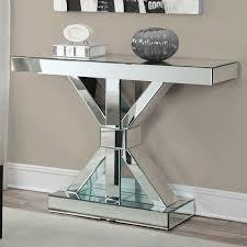 mirror console table. Modern Mirrored Console Table Mirror E