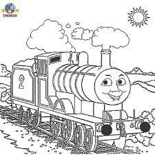 44 Thomas The Train Coloring Pages Free Printables Emily From